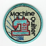 Quilt Patches 2''- Iron on-Machine Quilter
